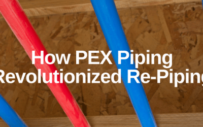 How PEX Piping Revolutionized Re-Piping
