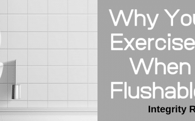 Why You Should Exercise Caution When Using Flushable Wipes
