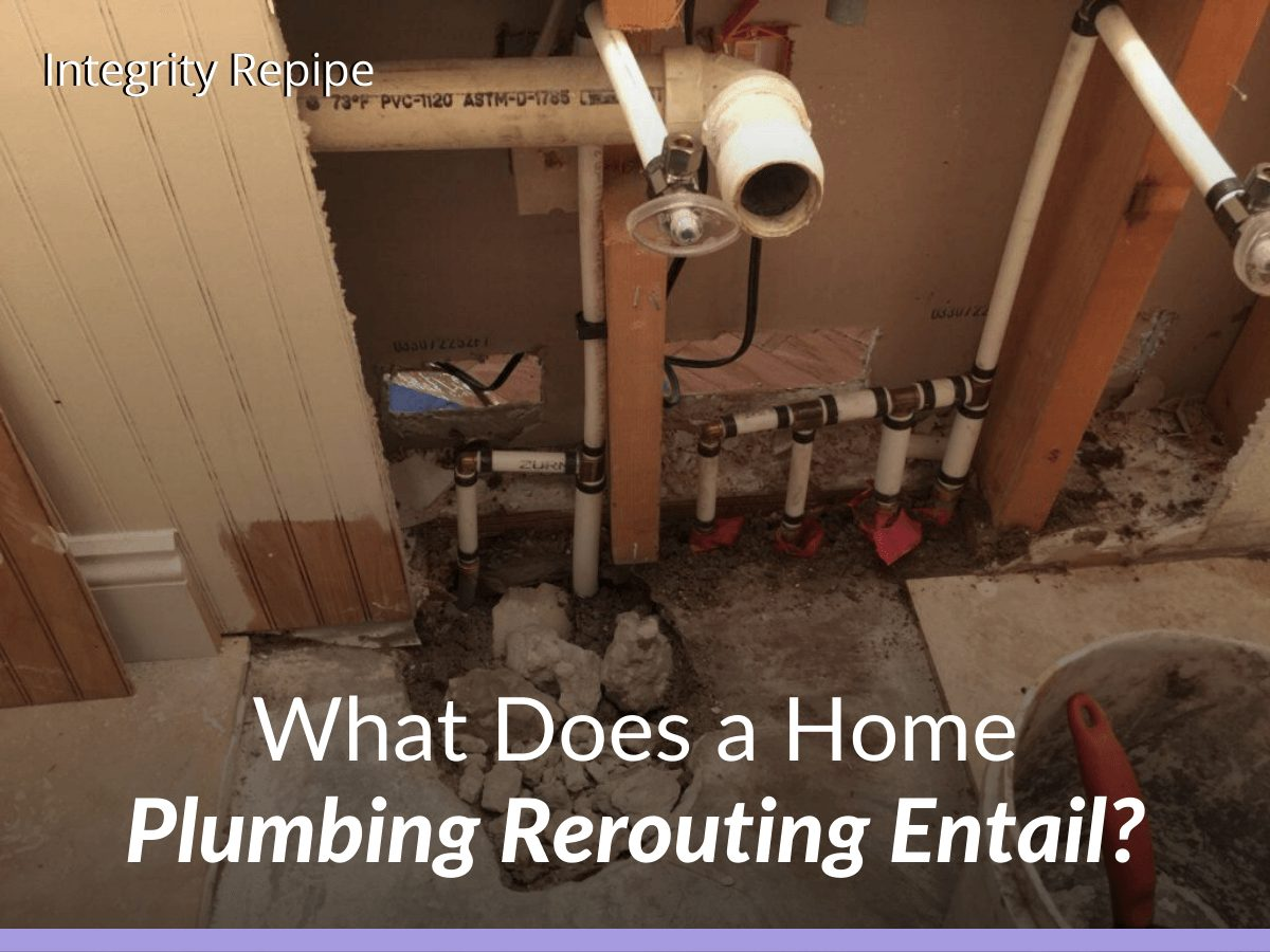 What Does a Home Plumbing Rerouting Entail?