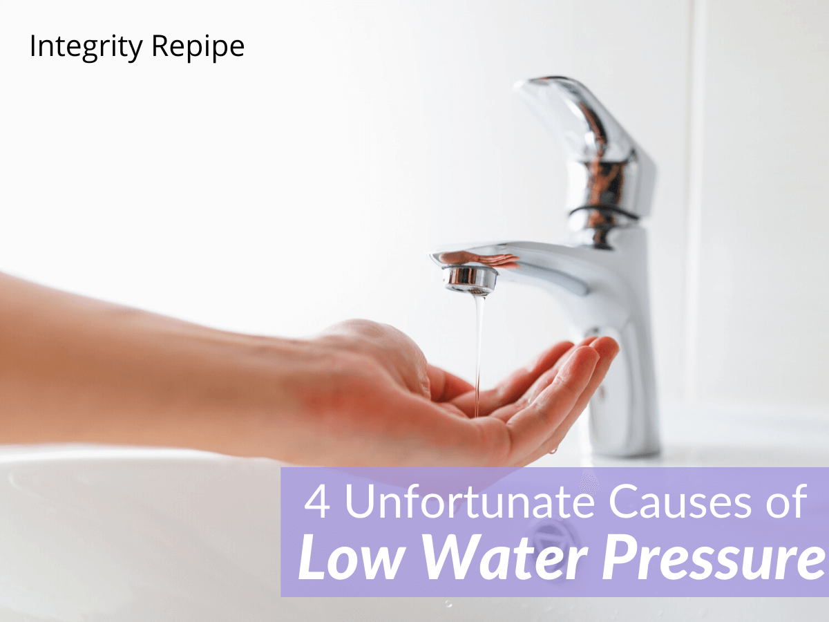 4 Unfortunate Causes of Low Water Pressure