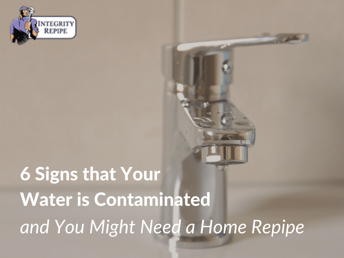 6 Signs that Your Water is Contaminated