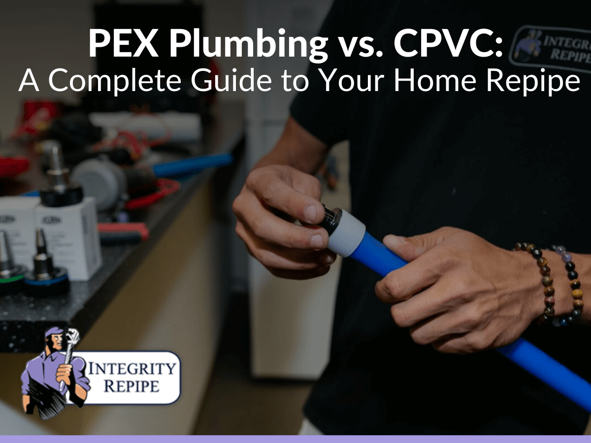 PEX Plumbing vs. CPVC A Complete Guide to Your Home Repipe