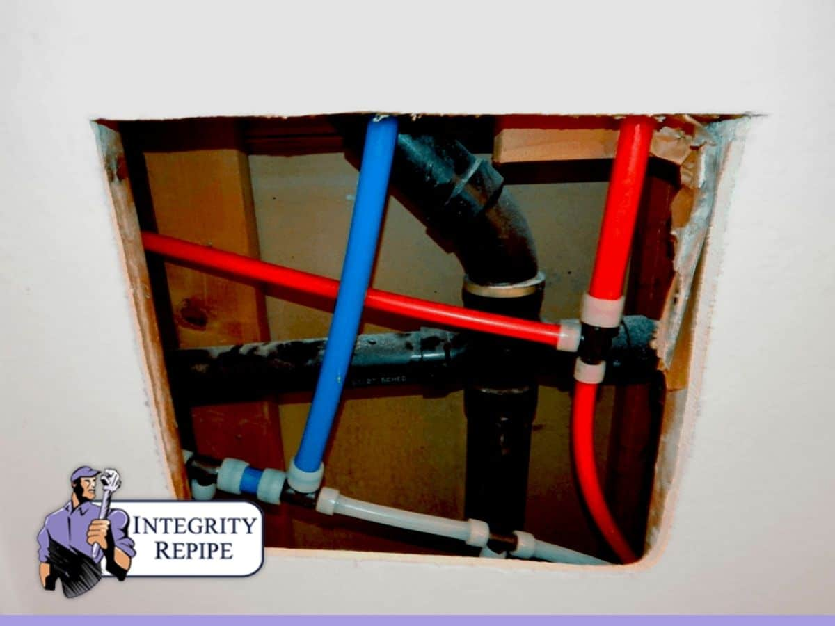 House repiping project
