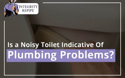 Is a Noisy Toilet Indicative Of Plumbing Problems?