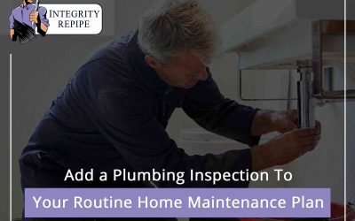 Add a Plumbing Inspection To Your Routine Home Maintenance Plan